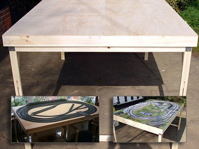 Railway Baseboard: self assembly kit
